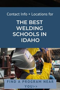 """Want to learn how to become a welder in Idaho? Or maybe you're wondering """"How much do welders make in Idaho?"""" Both of these questions and more are discussed at our meeting tonight. Hope to see you there! (List of Welding Schools in Idaho"""