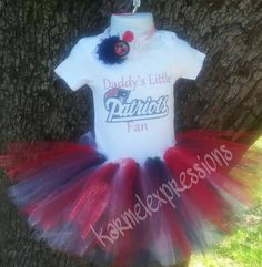 Check out this item in my Etsy shop https://www.etsy.com/listing/481532743/daddys-little-new-england-patriots-tutu