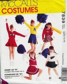 McCalls Cheerleader 7839 COSTUMES Pattern Size 7-10 CHEERLEADER COSTUMES,http://www.amazon.com/dp/B0086KLHE4/ref=cm_sw_r_pi_dp_Tbx7sb0TTJCW33WF