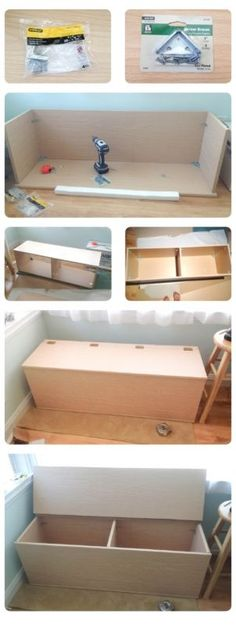 Cat Litter Box Bench - Foter