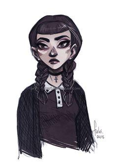 Miss Addams by Fukari on DeviantArt