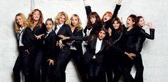 11 donne a Parigi commedia con Isabelle Adjani, Laetitia Casta e Vanessa Paradis Sex and the City alla francese Vanessa Paradis, Audrey Dana, Isabelle Adjani, Laetitia Casta, The Hollywood Reporter, Costume, Glamour, Bridesmaid Dresses, Wedding Dresses