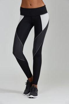 Allegra Legging - Carbon - Nóli Yoga  - 1
