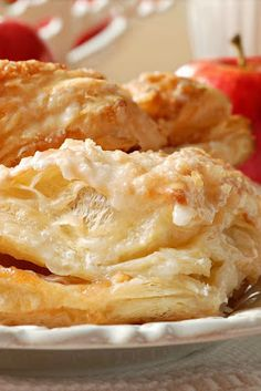 Apple Turnovers - This dessert is both delicious and looks beautiful :)