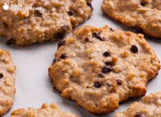 Tasty and moist Whey Protein Cookies Recipe made with banana, oatmeal, peanut butter, chocolate chips and whey protein powder.