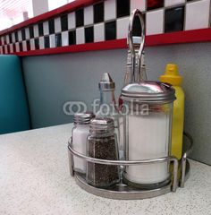Condiments at the Diner