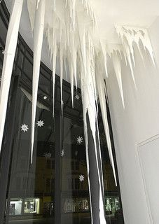 Pillar icicle 2 | Commissioned paper installation for the Ch… | Flickr - Photo Sharing!