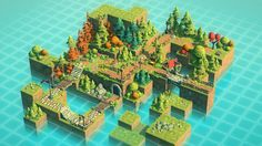 Free your imagination and create some nice levels with this Isometric Pack! The package consists of: - easy to use, modular blocks of surfaces (5 tiles multiplied by 8 combinations) - a variety of many props to choose from - trees, bushes and other types of vegetation - particle effects - 9 demo levels for showcase and testing.
