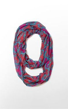 Lilly pulitzer infinity scarf