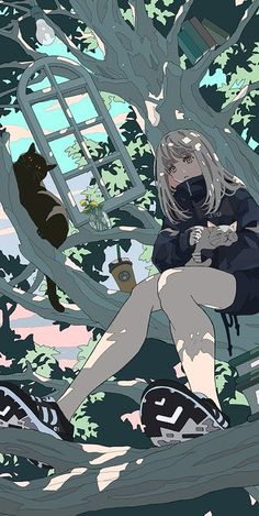 Anime Backgrounds Wallpapers, Anime Scenery Wallpaper, Cute Anime Wallpaper, Animes Wallpapers, Cute Wallpapers, Pretty Art, Cute Art, Aesthetic Art, Aesthetic Anime