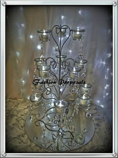 Wedding Centerpices 10 beautiful candelabras by FashionProposals