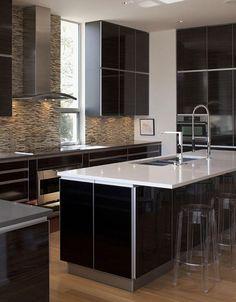 cozinha preta / black kitchen