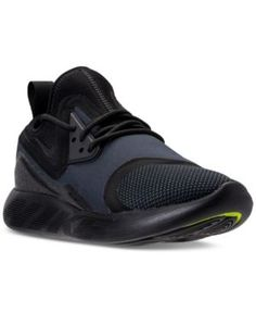 Nike Women's Lunar Charge Essential Casual Sneakers from Finish Line - Black 8.5
