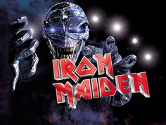 Iron Maiden Pic of Eddie Photo: The picture u are wittnessing right now infront of those tiny little eyes of u is a picture of the Iron Maiden mascot Edd. Iron Maiden Mascot, Iron Maiden Band, Theatre Problems, Theatre Quotes, Ramin Karimloo, Nu Metal, Heavy Metal Bands, Rock Legends, Phantom Of The Opera
