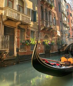 "Gondola, Venice, Italy ""Open my heart and you will see, 'graved inside, Italy.""  (Robert Browning)"