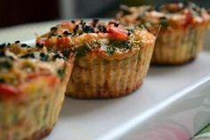 Diyet sebzeli muffin Tarifleri