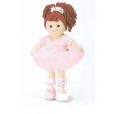 Bambola di pezza My Doll Ballerina Rosa 42cm. Curata nei minimi dettagli, è realizzata a mano in Italia.