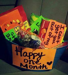 Boyfriend 1 Month Anniversary Surprise 2 Cute Ideas
