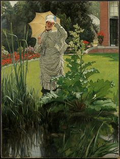 Spring Morning (ca. 1875) - James Tissot