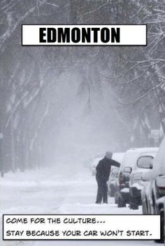 Pin from Edmonton, Alberta, Canada - Definitely could be a slogan for WV this week. Canadian Things, I Am Canadian, Canadian Humour, Canadian Winter, Canadian Culture, Canada Funny, Canada Eh, Canada Memes, Visit Canada