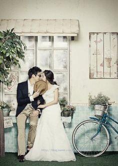 Korean cute wedding photography
