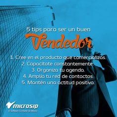 #TipsMicrosip 5 tips para ser un buen vendedor