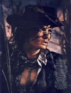 Isabeli Fontana | David Sims | 'Wanted' | Vogue Paris April 2011 - 3 Sensual Fashion Editorials | Art Exhibits - Anne of Carversville Women's News