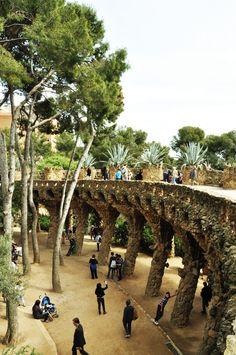 Parc Güell. 1900-14. Barcelona, Spain. Antoni Gaudi