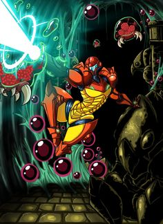 Metroid by Lordstevie.deviantart.com on @DeviantArt