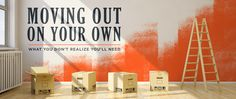 Mor Furniture Blog - Moving Out On Your Own- What You Don't Relaize You'll Need | Mor Furniture for Less
