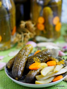 Smaczna Pyza: Najlepsze ogórki konserwowe. Ogórki po warszawsku....