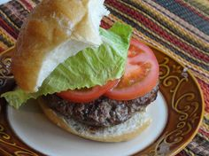 """""""This is one decadent burger! You have all the flavors of a muffuletta sandwich stuffed into a burger. Burger night in your house will never be the same once you serve these. They are fabulous!"""""""