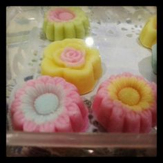 Sweet flowers thai dessert