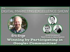 ▶ Building Google Plus Awesomeness Via Communities - YouTube
