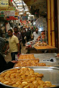 Nablous Market - Palestine
