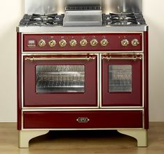 So Beautiful And Gorgeous Color Too Umd1006mpi Ilve 40 6 Burner Dual Fuel