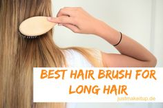 The best hair brush for long hair - even better than the Tangle Teezer.