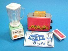 Re-ment miniature retro vintage electric appliance