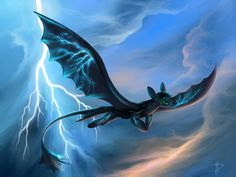 I have a theory on how the night fury came to be. The book of dragons said that the night fury is the offspring of lightning and death itself, and Toothless looks slightly like a terrible terror. what if the offspring of death means that the terrible terror egg's parents died. Then it was struck by lightning.