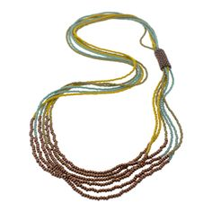 MAKE ME! Natural Bead Bound Necklacel | Fusion Beads Inspiration Gallery