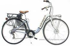 Ciclotek Relax bicicleta electrica comoda y ligera - labiciurbana.com bicicletas urbanas y de paseo