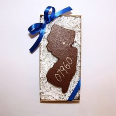 The heart of Enjou Chocolat resides in Morristown, New Jersey (07960).  A perfect gift for visitors, or those who call it