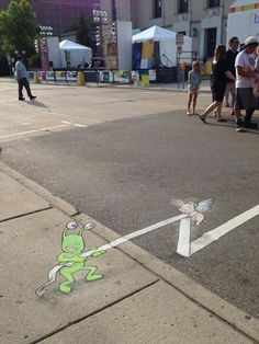 David Zinn the Creator of Sluggo and Flying Pig.