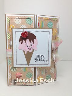 Chick-n-Scrap: Happy Birthday w/Peachy Keen Stamps