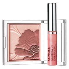 Clinique= Peach an Pink #Blush & #Lip #Gloss