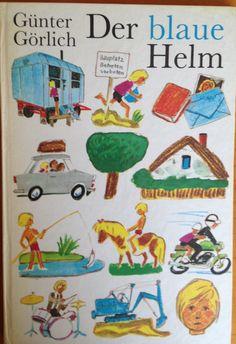 Der blaue Helm DDR-Kinderbuch