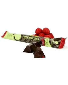 Theobroma Dark Chocolate 'sticks.'  I want to shy away from chocolate companies that don't have the 'fair trade' symbol on them. This is a great company that doesn't exploit workers, and the chocolate tastes AMAZING!!! LOVE the raspberry dark chocolate stick. You can find them at natures fare or superstore/save on in the natural foods aisle.