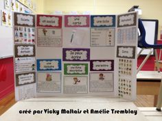 Browse educational resources created by Vicky Maltais in the official Teachers Pay Teachers store. French Teaching Resources, Teaching French, Educational Activities For Kids, Fun Learning, Daily 5 Writing, Classroom Management Techniques, School Organisation, Core French, French Immersion