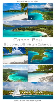 Caneel Bay, St. John, US Virgin Islands - home to high end resort and several secluded beaches