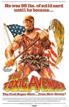 Toxic Avenger The Movie Poster 24inx36in